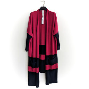 $139 NWT Zenergy Chico's Cotton Cashmere  Cardigan